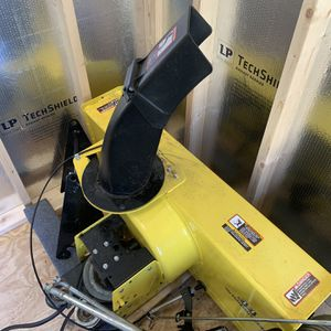 John Deere X300 And 500 Series Snow Blower Attachment for Sale in Bristol, CT