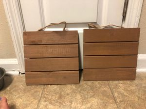 Wooden wall decor small for Sale in Sandy Springs, GA