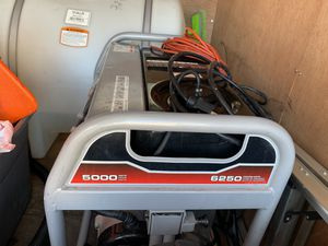 Generator 5000w running generador for Sale in Las Vegas, NV