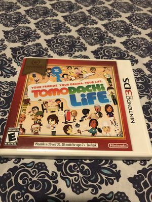 Tomadachi Life Nintendo 3DS for Sale in Allen, OK