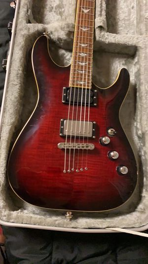 Schecter Damien C1 + 6 String Electric Guitar for Sale in Washington, DC