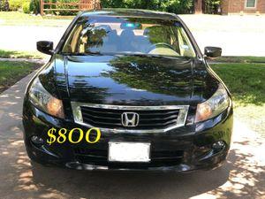 🍁🔥$8OO URGENT I sell my family car 2OO9 Honda Accord Sedan V6 EX-L 𝓹𝓸𝔀𝓮𝓻 𝓢𝓽𝓪𝓻𝓽 Runs and drives very smooth🍁🔥 for Sale in Santa Ana, CA