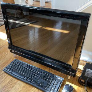 "HP Touchsmart 600 All-in-one Desktop PC 24"" Core i5 touchscreen for Sale in Suwanee, GA"