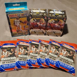 Panini Prizm And Nba Hoops Cards for Sale in Everett, WA