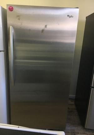 Whirlpool stainless steel freezerless refrigerator for Sale in Cleveland, OH