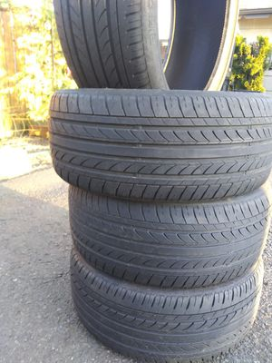 Set of 4 used tires 225 40 18- 75%trade NANKANG noble sport for Sale in Vancouver, WA