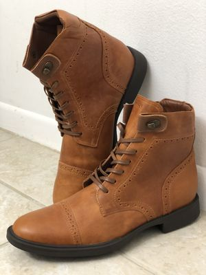 """Brand New Authentic Handcrafted """"LEO FRATTINI'S"""" Sneakers and Boots. REAL NATURAL FULL GRAIN LEATHER IN AND OUT. GET THEM IN 3 DAYS NATIONWIDE for Sale in Stockton, CA"""