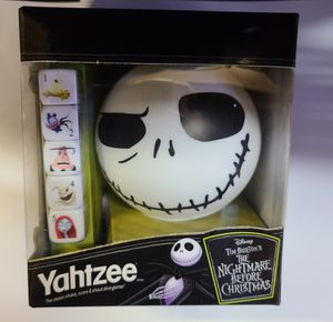 NIGHTMARE BEFORE CHRISTMAS: YAHTZEE (HASBRO GAMES: 2020 EDITION) 🔥 (SEALED/NEVER OPENED) **AVAILABLE** for Sale in Philadelphia, PA