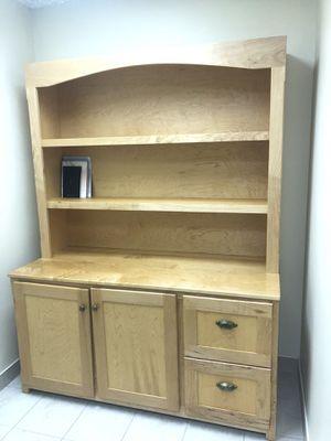 Solid wood bookshelf for Sale in Dearborn, MI