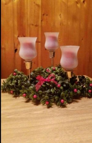 Tri-Candle Centerpiece for Sale in Silver Spring, PA