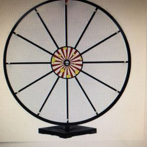 "24"" Prize Wheel Dry Erase By MIDWAY MONSTERS for Sale in Seaford, NY"
