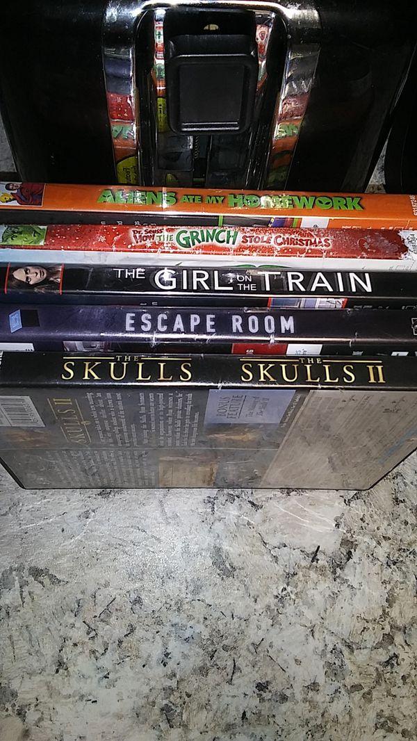 5 DVD's