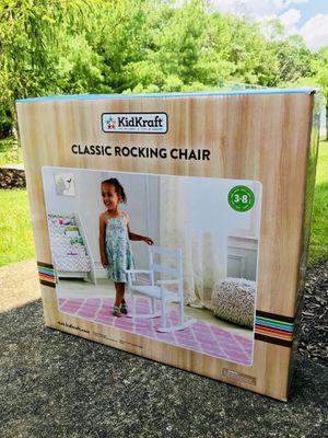 KidKraft classic wooden rocking chair - kids for Sale in Edison, NJ