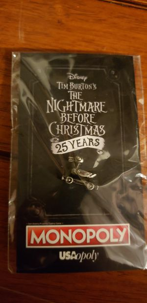 Nightmare Before Christmas Monopoly Duck for Sale in Los Angeles, CA
