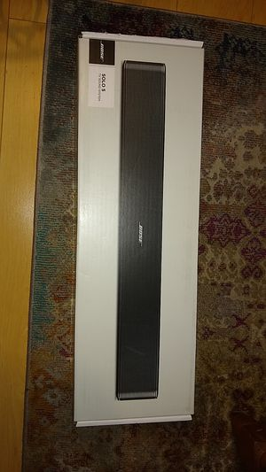 Bose Solo 5 sound bar for Sale in Long Beach, CA