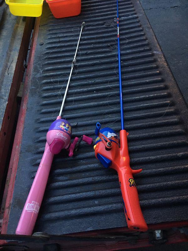 Kid fishing rod x2