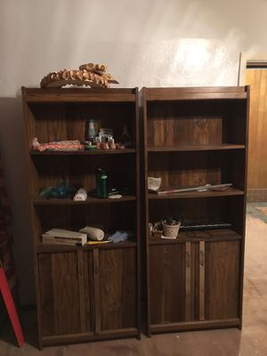 Two bookshelves for Sale in Pittsburgh, PA
