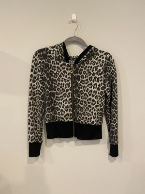 Leopard/cheetah/animal print hoodie zip up jacket for Sale in Silver Spring, MD