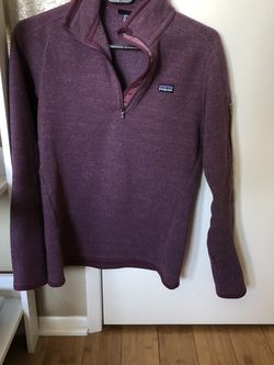 Patagonia Women's Better Sweater 1/4 Fleece (S) for Sale in Culver City,  CA