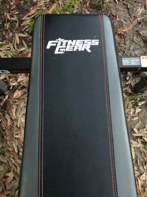 Fitness gear weight bench for Sale in Winston-Salem, NC