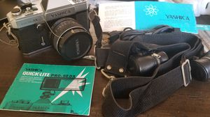 Yashica Electro AX Manual Focus with Lens Film Camera Vintage Analog for Sale in Madison, NJ
