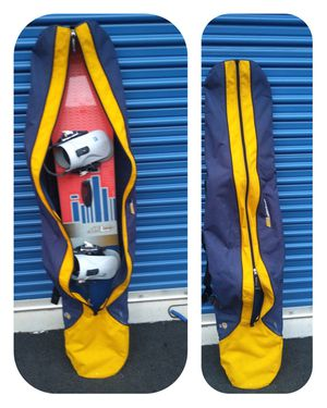 "Burton Snowboard 61"" Bindings included (size 8-10) Bag included Located in Branford for Sale in Branford, CT"