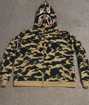 OG bape camp hoodie size large for Sale in Moreno Valley, CA
