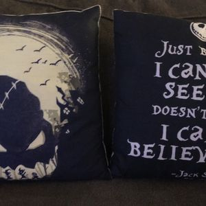 Nightmare before Christmas Throw Pillows for Sale in Oceanside, CA