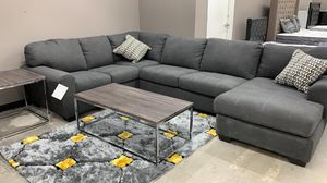 """💎Great Bundle sale❤️Ashley sectional set+ tv Stand and FREE 55"""" smart 4K tv NO CREDIT CHECK for Sale in Houston, TX"""