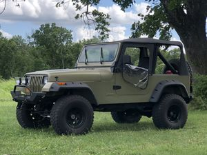Jeep 1990 Wrangler 4X4 Lifted Custom Built Like New for Sale in Lebanon, OH