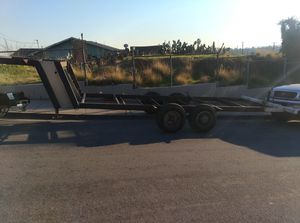 Chassis with dual axle,,,,for cargo trailer or dump trailer for Sale in Los Angeles, CA