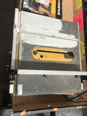 TableSaw , ToolsPower .. Dewalt Table Saw DW745 .. Negotiable for Sale in Baltimore, MD