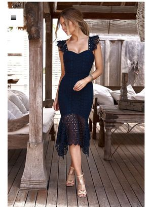 Jaus Navy blue Giselle Dress for Sale in Oviedo, FL