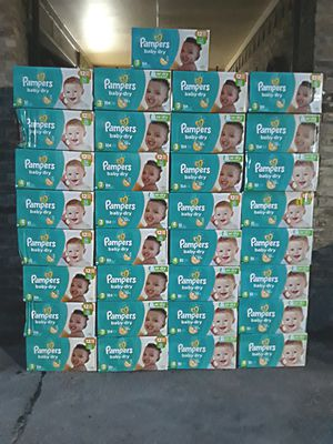 Pampers Baby Dry Diapers Pañales Size Talla 3 ONLY BOXES Cajas Only $20 Per Box Solamente $20 La Caja for Sale in Dallas, TX