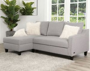 Abbyson Haskell Grey Convertible Sofa Bed for Sale in Cincinnati, OH