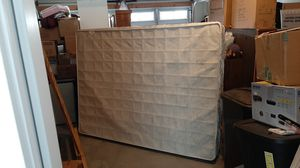 Queen size box spring and railings for Sale in Salt Lake City, UT