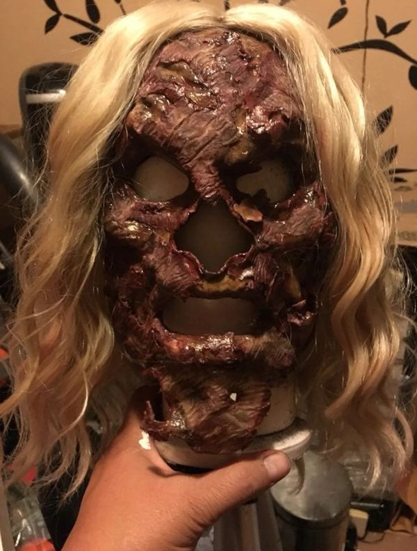 Homemade Zombie Mask