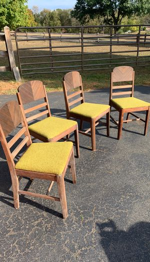 Antique wooden chairs for Sale in Nokesville, VA