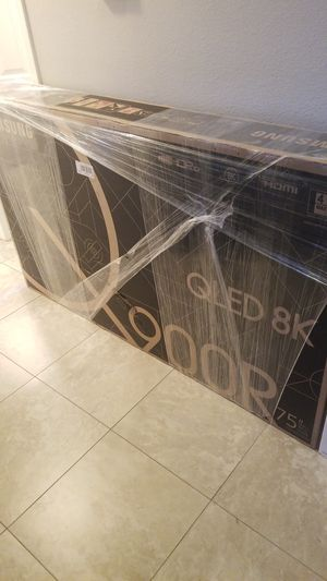 2019 Samsung 900r 8k 75 inch TV brand new for Sale in Campbell, CA