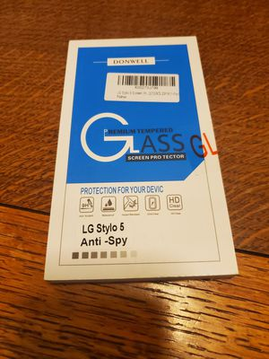 LG Stylo 5 Screen Protector for Sale in Fresno, CA