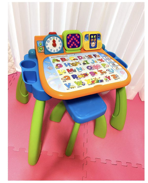 VTech Touch Activity Kids Desk and Kids Keyboard | Kids Desk | Learning Toys 💗