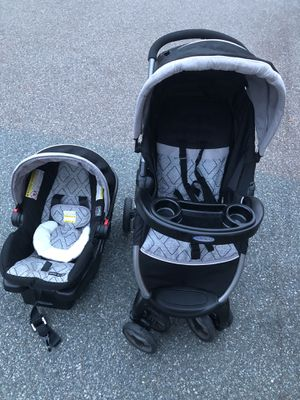 GRACO Baby stroller and Car seat. Like new for Sale in Germantown, MD