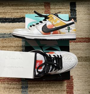 Nike Sb white rayguns, used SIZE 10.5 for Sale in Bernards, NJ