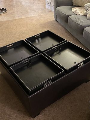 Coffee Table with Storage for Sale in Huntington Beach, CA