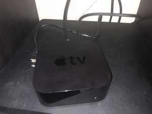 Apple TV 4th generation with replacement remote for Sale in Chevy Chase, MD