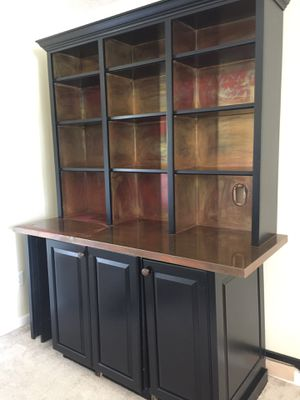 Bar shelf with fridge for Sale in Loganville, GA