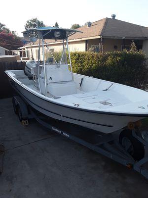 1997 Stratos 21 foot center console fishing boat$12500 obo for Sale in Pico Rivera, CA