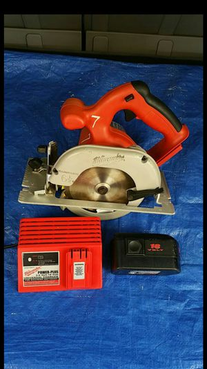 Milwaukee 6-1/2 inch... 18v. Magnesium Saw, MADE IN USA for Sale in Evergreen, CO