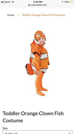 Toddler Nemo Costume for Sale in Haines City, FL