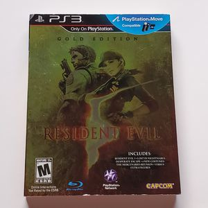 Resident Evil 5 - Gold Edition (Sony PlayStation 3) - PS3 Complete w/ Slipcover for Sale in Paramount, CA